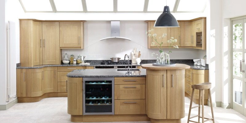 Solid Light Oak Shaker (Price Group 6)