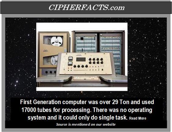 sejarah sistem operasi komputer generasi pertama