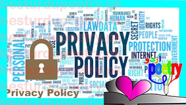 privacy policy - besturdupoetry.pk