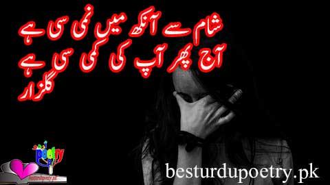 sham say aankh main nami si ha