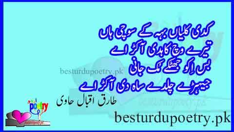 kadi kalliyan beh kay sochi haan - sufi poetry in urdu - besturdupoetry.pk