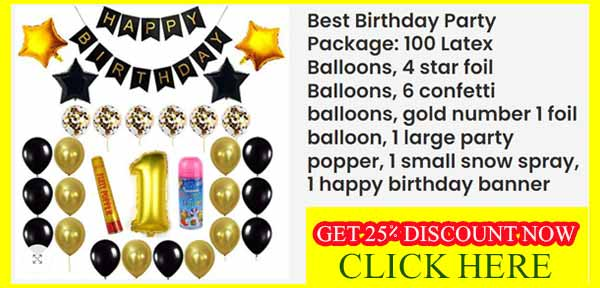 Best Birthday Party Package