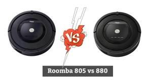 Roomba 805 vs 880