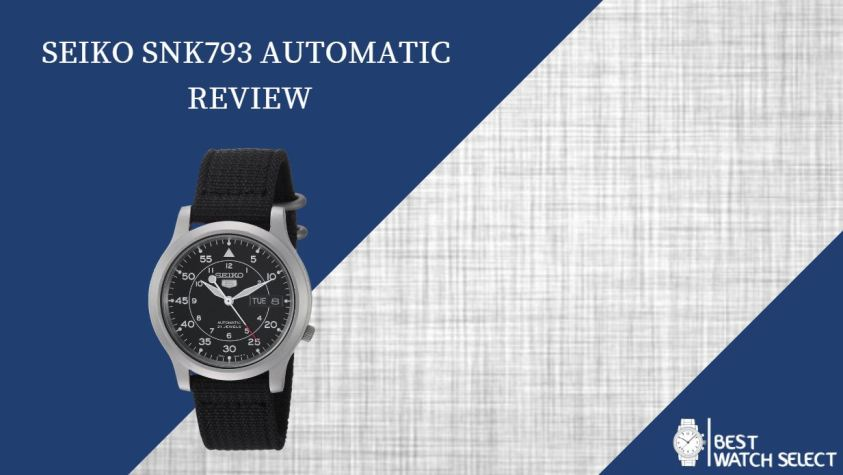 Seiko SNK793 Automatic Review