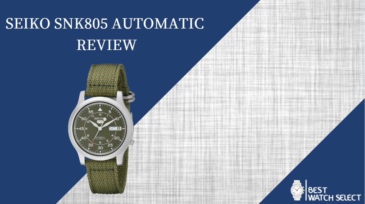 Seiko SNK805 Automatic Review