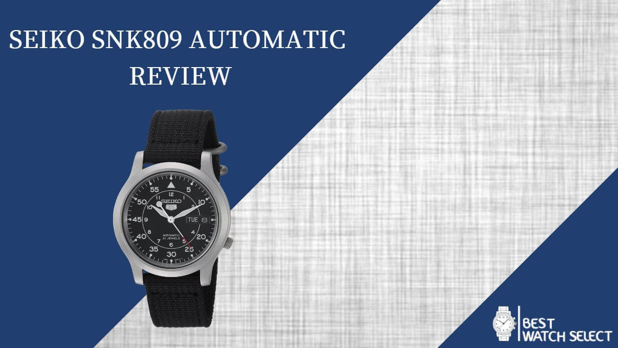 Seiko SNK809 automatic review