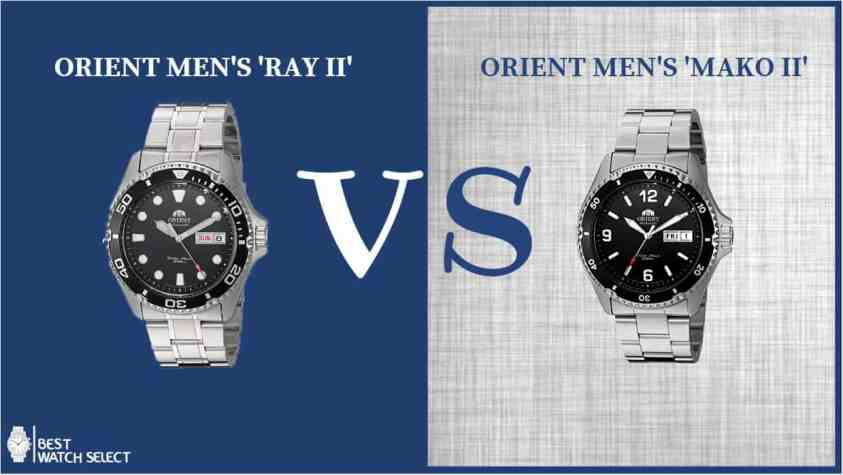 Orient Ray Vs Mako