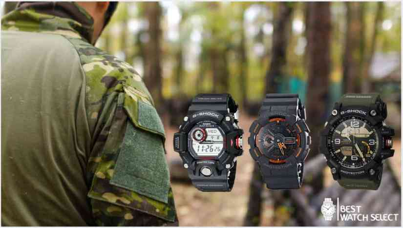 Best g shock watch for military