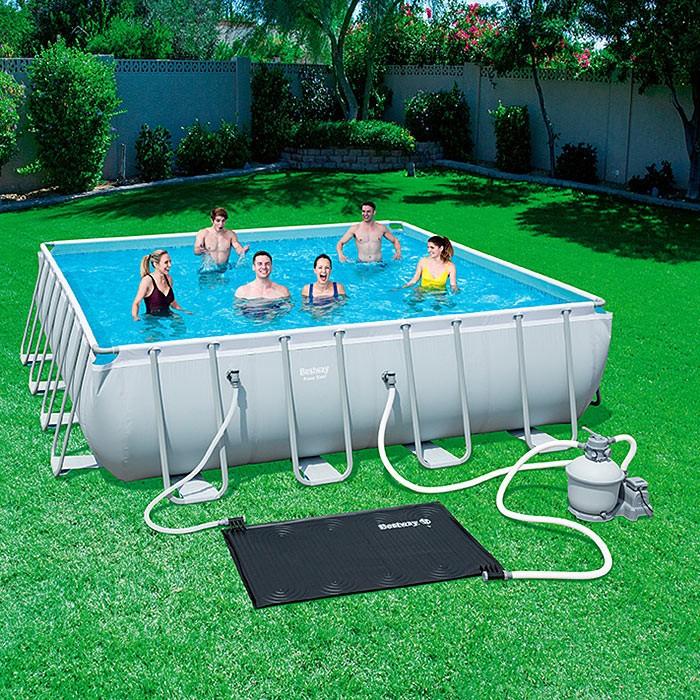 solarpoolheizung clean sun powered pool pad