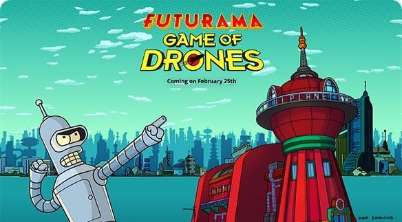 Futurama: Game of Drones for PC (Windows 10) Download