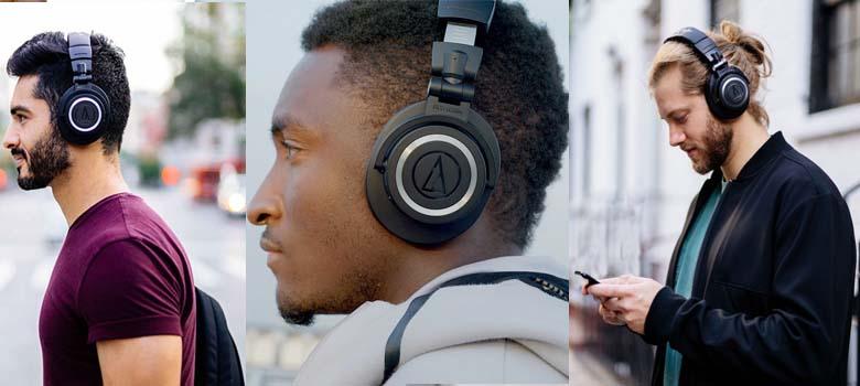 ATH-M50xBT Wireless Comfortable Headphones