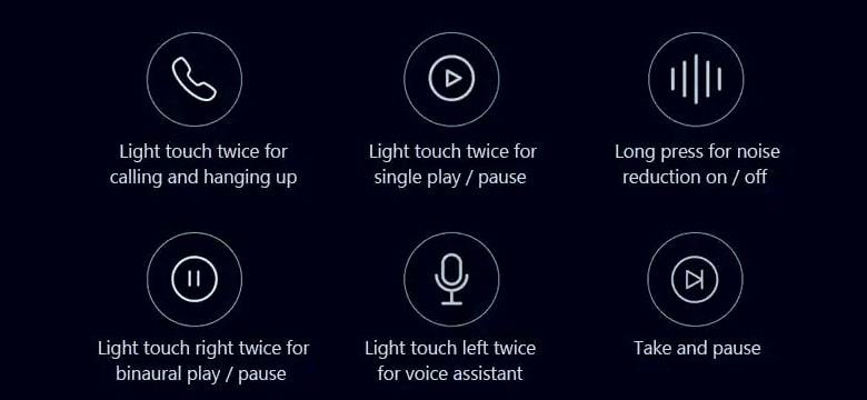 Xiaomi Mi AirDots Pro features