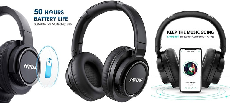 Mpow Update Active Noise Cancelling Headphone