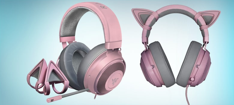 best pink gaming headsets with mic