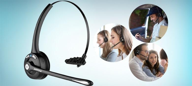 mpow pro trucker bluetooth headset