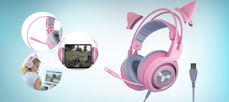 girl gaming headset