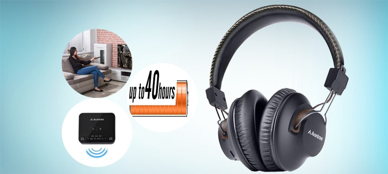 avantree ht280 wireless headphones for tv watching and netflix movies