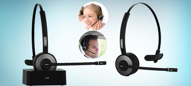 best bluetooth headset business office computer - PC - phone calls