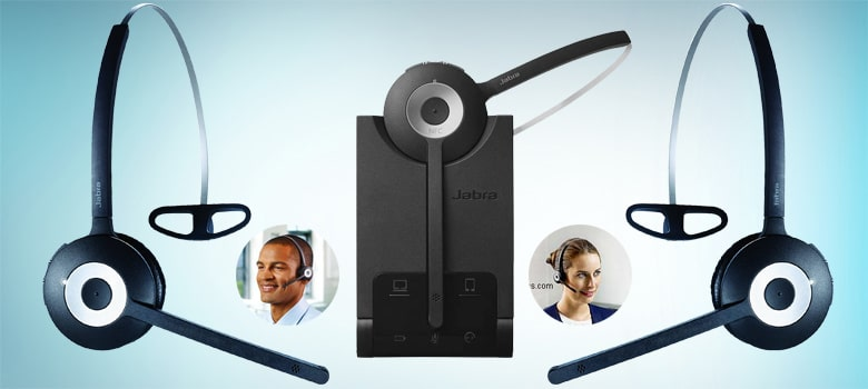 Jabra PRO 930 MS Mono Lync Optimized Wireless Headset for Softphone