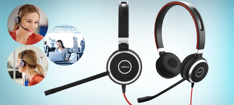 Professional Wired Headset and Stereo Speaker