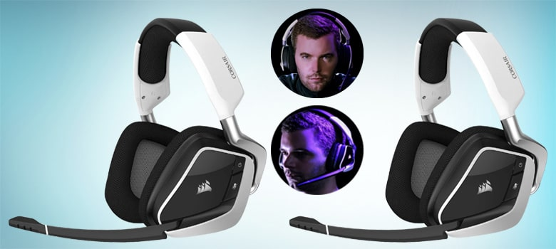 corsair gaming void rgb elite wireless Best Gaming Headset Under $100
