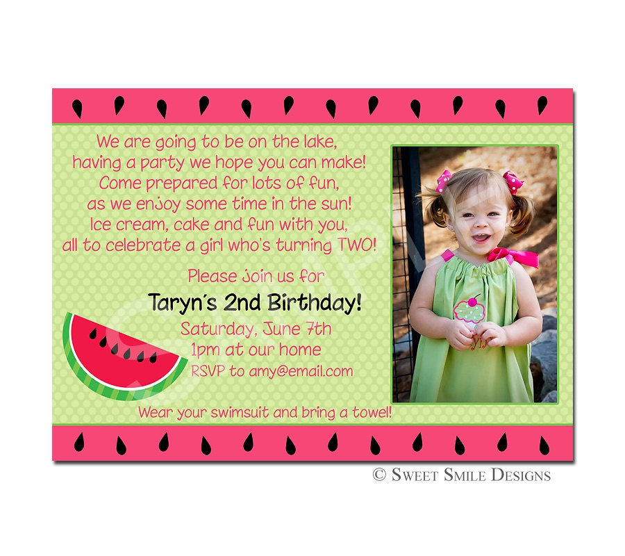 3rd birthday party invitation quotes