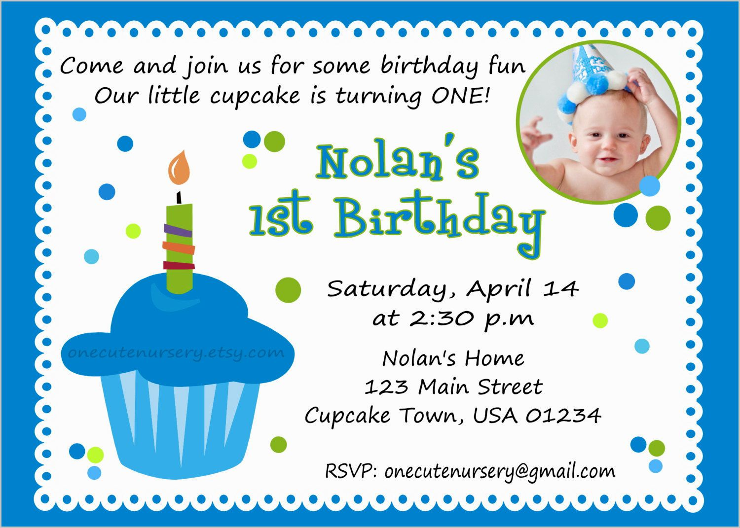 birthday cards invitation sample