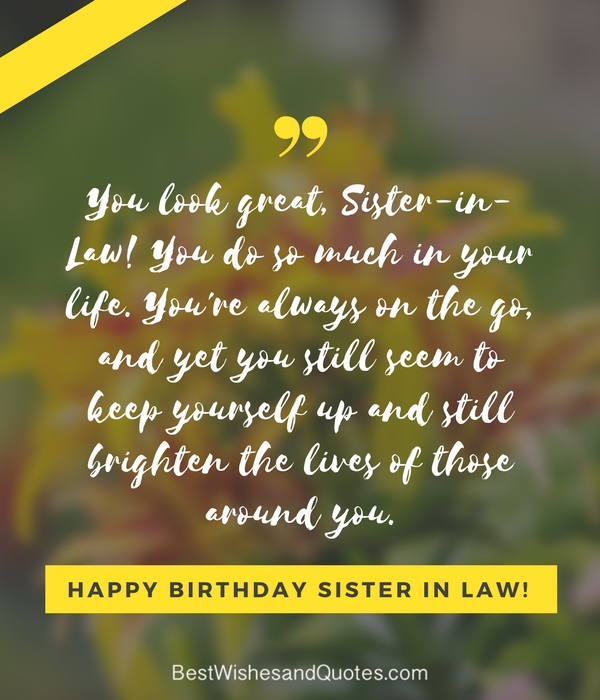 Happy Birthday Sister In Law 30 Unique And Special Birthday Messages