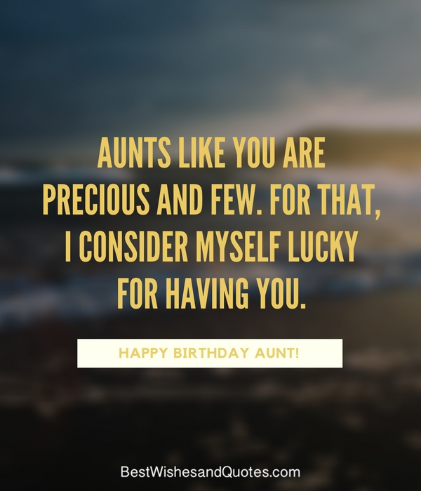 Birthday Happy Dear Aunt