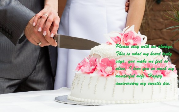 Happy Wedding Anniversary Cake Images Wishes For Wife