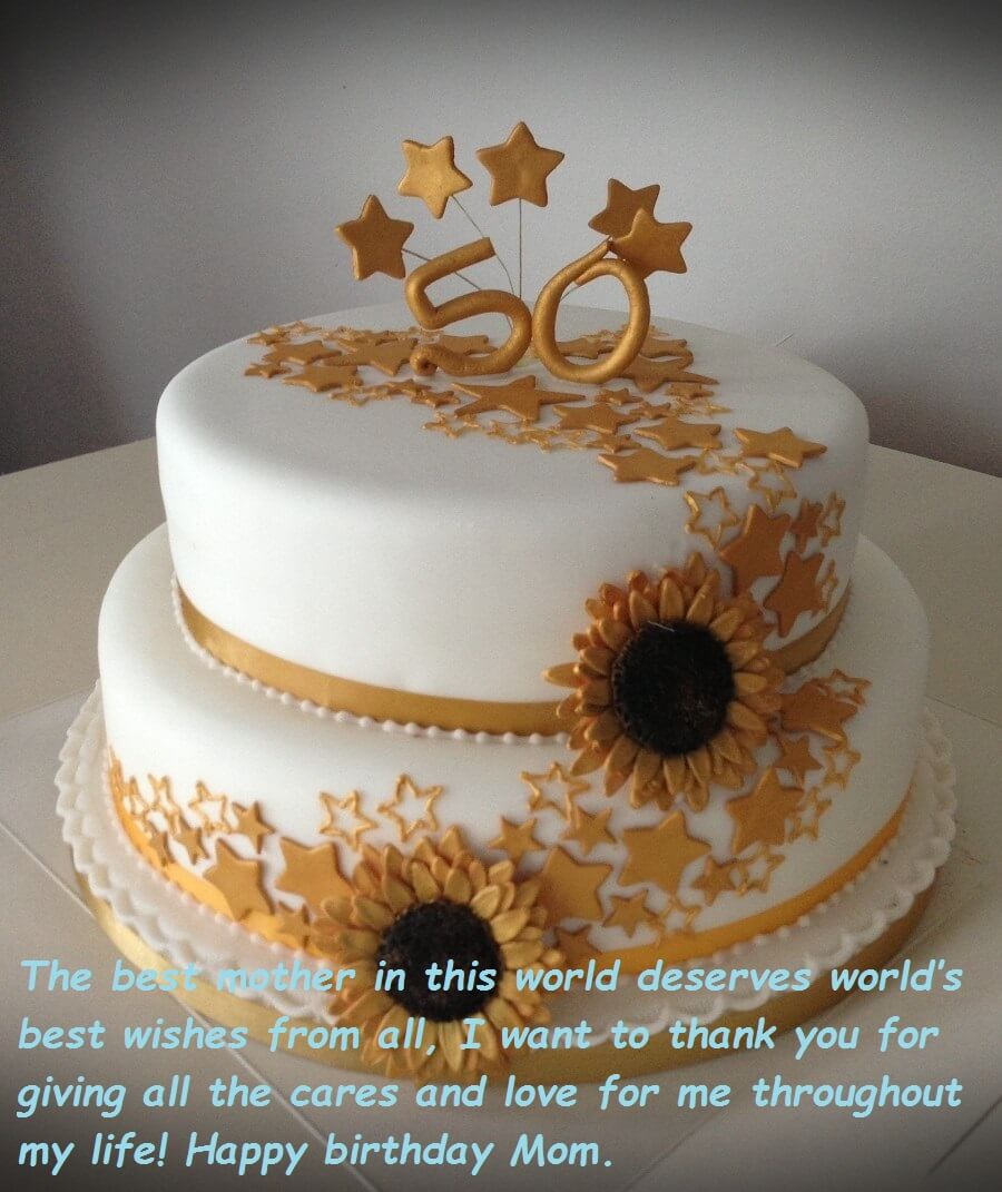 Images Of Cake With Wishes : Birthday Cake Wishes Images For Mom Best Wishes