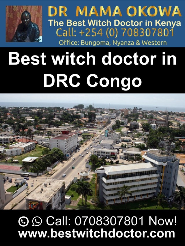 The Best Witch Doctor in Democratic Republic of Congo