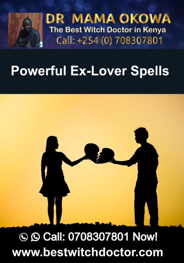 Powerful Ex-Lover Spells Spells