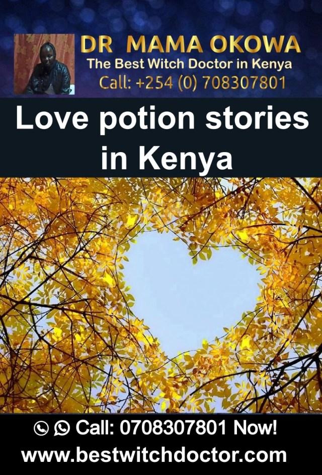 Love potion stories in Kenya