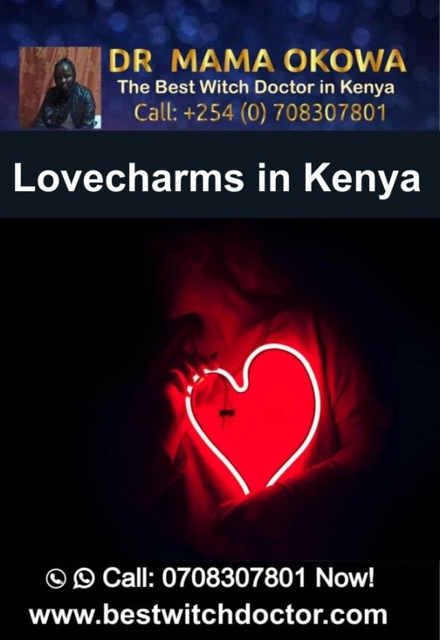 Lovecharms in Kenya