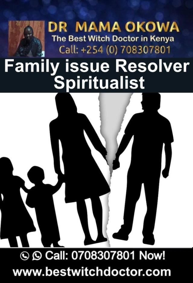 Family issue Resolver Spiritualist