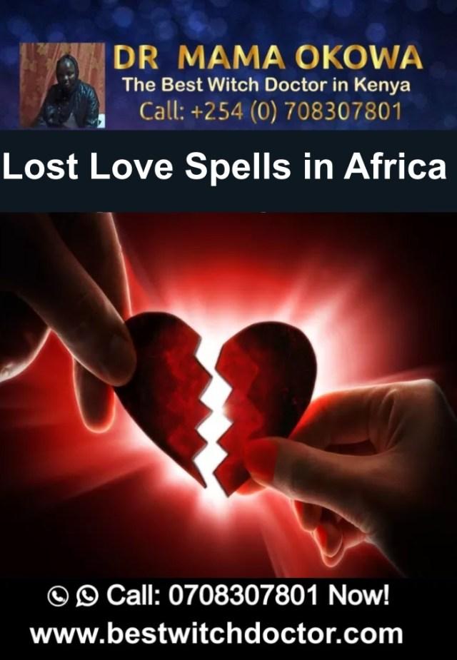 Lost Love Spells in Africa, Mama Okowa