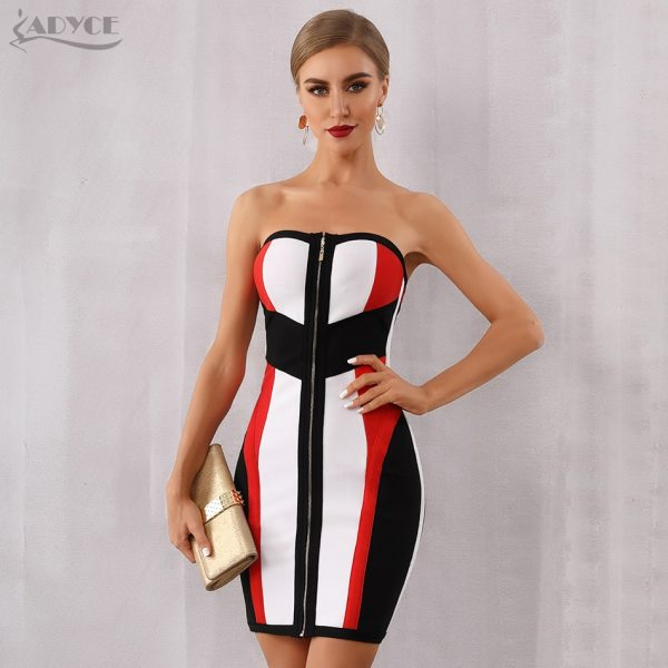 Bodycon Dress Midi Club Dress Evening Party Dress