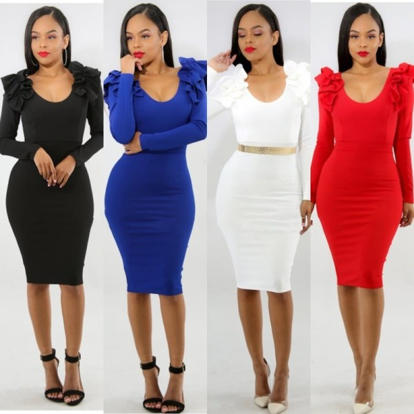 Sexy Women Bodycon Dress Backless Party Dress