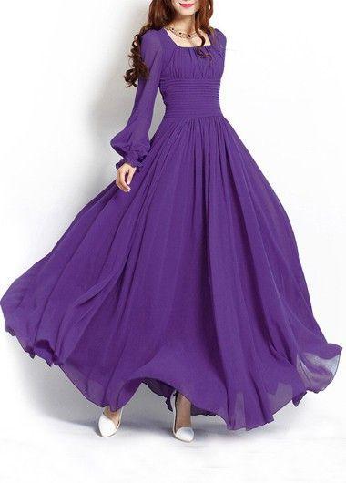 Chiffon Dresses for Every Wedding Girl