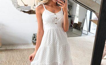 Plus Size White Dresses For Women - Summer Look