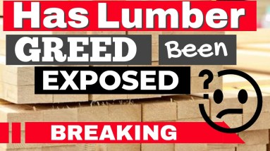 Lumber Pricing - GREED EXPOSED ? (Is this why lumber prices are out of control?)