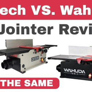 Cutech VS. Wahuda: Cutech 8 Jointer - Wahuda 8 Jointer (Reviews)  2021