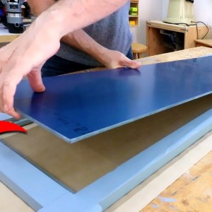 Highlight small details to elevate a simple project. Making a dressing mirror.