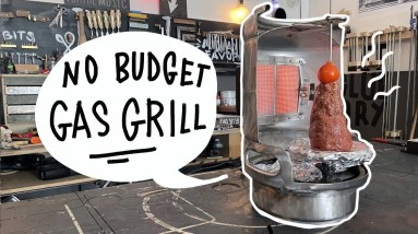 How to build a gyros gas grill