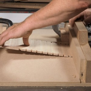 How to cut stopped dadoes on the tablesaw with Mike Pekovich