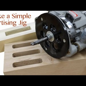 How to Make a Mortise Jig for a Plunge Router