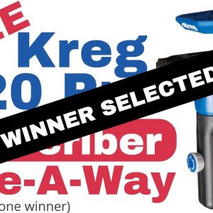Kreg 520 Pro Pocket Hole Jig ( Give-A-Way)