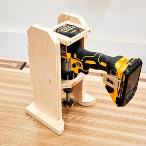 Making A Drilling Guide - Portable Drill Press