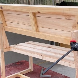 Most Amazing Woodworking Project Smart Design Ideas // Build A Benches Transform Into Picnic Tables